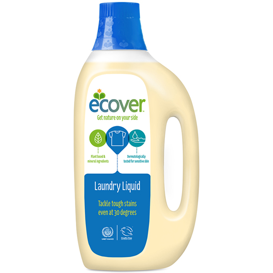 ECOVER (エコベール) ランドリーリキッド (洗濯用液体洗剤)  1500ml